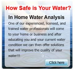 In Home Water Analysis